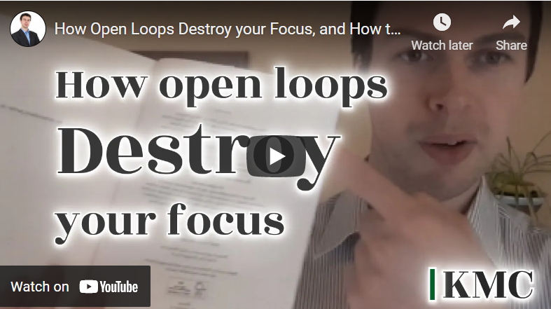 How Open Loops Destroy your Focus, and How to Close Them (The Zeigarnik Effect)